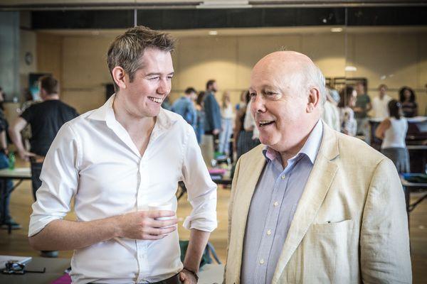 Jamie Hendry and Julian Fellowes Photo