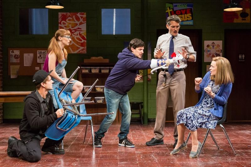 BWW Review: The Alley Theatre's HAND TO GOD Is Funny (Hand to God)
