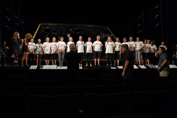 Photo Coverage: Come on Babe, They're Gonna Paint the Town - CHICAGO Rehearses for Central Park Concert!