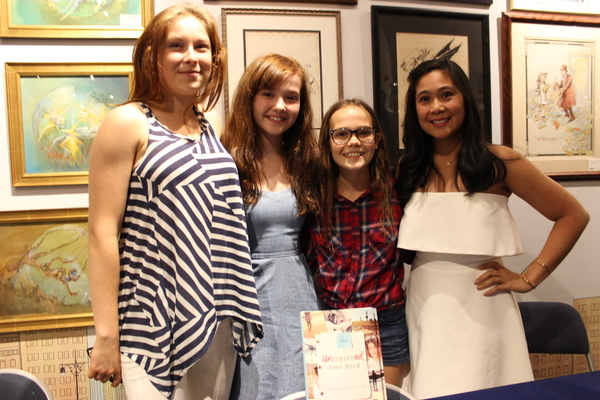 Photo Flash: Taylor Richardson, Oona Laurence, & More Attend Launch Party for UNSCRIPTED JOSS BYRD