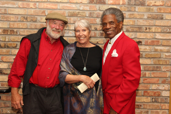 Eric Nelson, Toni Marie and Andre De Shields