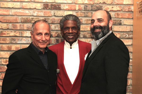 Jim Corti, Andre De Shields, William Osetek