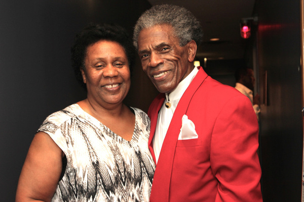 Jackie Taylor and Andre De Shields