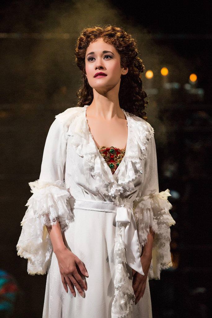 PHOTO FLASH: THE PHANTOM OF THE OPERA's Ali Ewoldt In An Unexpected High School Musical Role