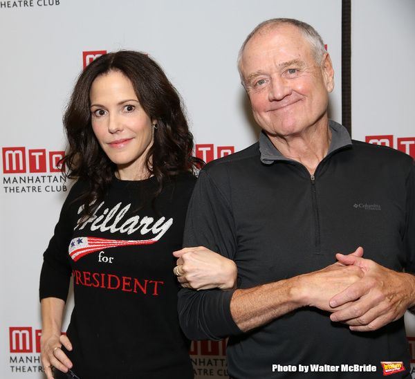 Mary-Louise Parker and Denis Arndy