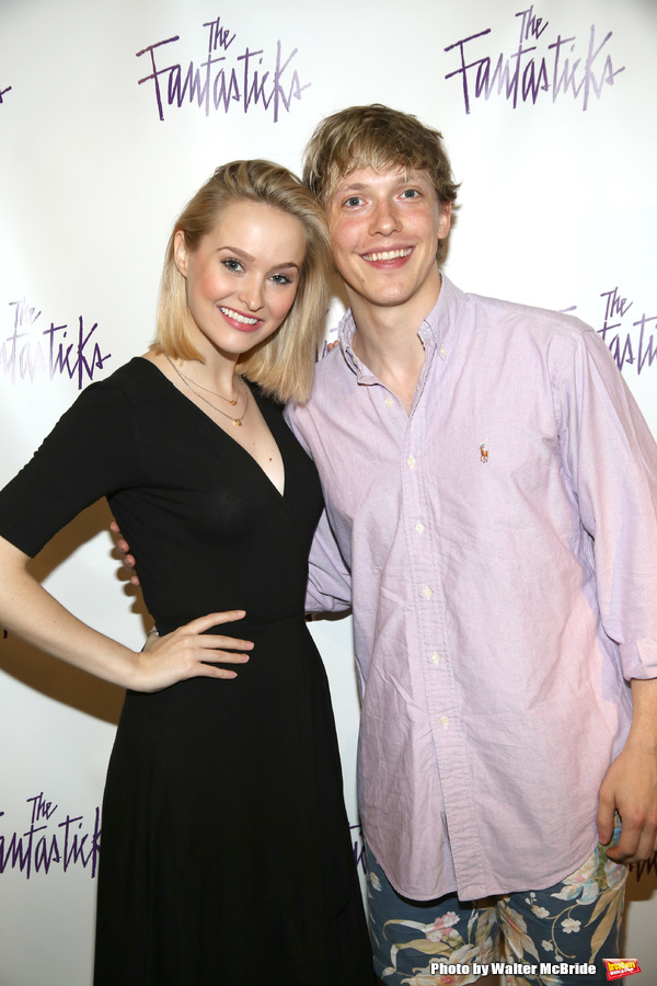 Madison Claire Parks  and Andrew Polec