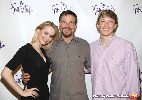 Peter Reckell with Madison Claire Parks and Andrew Polec
