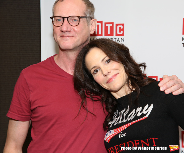 Mark Brokaw and Mary-Louise Parker