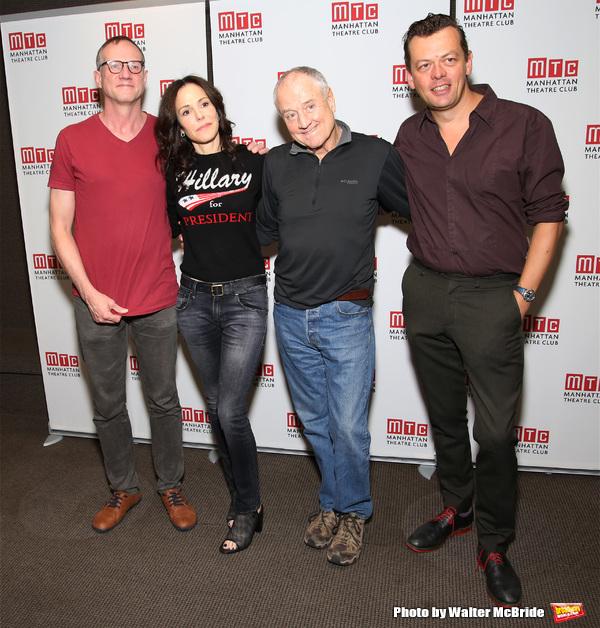 Mary-Louise Parker, Mark Brokaw, Denis Arndt and Simon Stephens