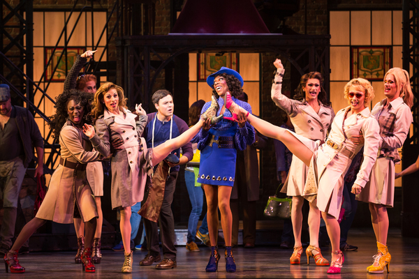 Photo Flash: First Look at Alan Mingo, Jr., Aaron C. Finley, Haven Burton and More in Broadway's KINKY BOOTS