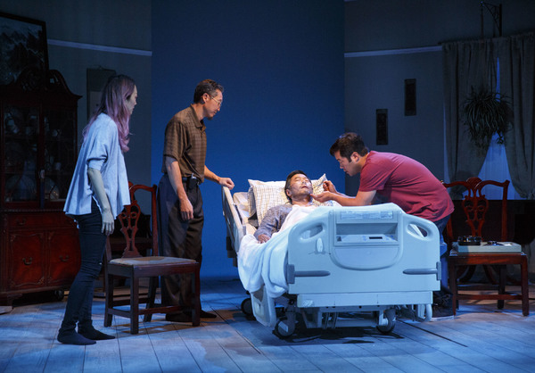 Photo Flash: First Look at Tim Kang and More in Julia Cho's AUBERGINE at Playwrights Horizons