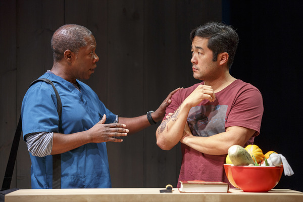 Michael Potts & Tim Kang. Photo: Joan Marcus