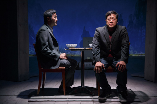 Stephen Park & Tim Kang. Photo: Joan Marcus