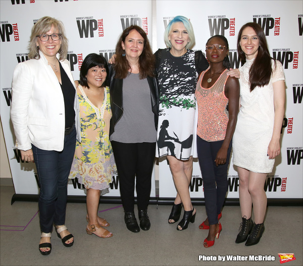 Lisa McNulty, Ann Harada,  Jackson Gay, Lisa Lampanelli, Zainab Jah, and Jessica Luck