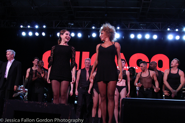 Photo Coverage: CHICAGO Struts to Central Park for 20th Anniversary!