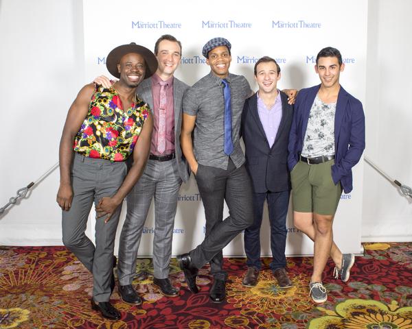 Andrew Malone, Brandon Springman, Paris Alexander Nesbitt, Jeff Pierpoint, Alejandro  Photo