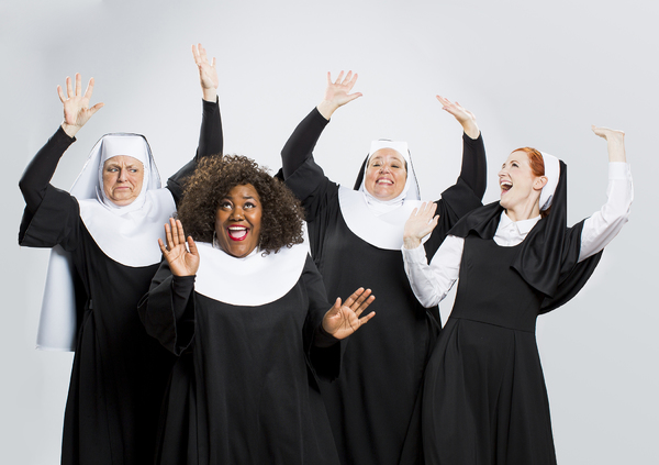 Sally Neumann Scamfer  as Sister Mary Lazarus, Zhomontee Watson, Sara Mattix  as Sister Mary Patrick and Melissa King as Sister Mary Robert