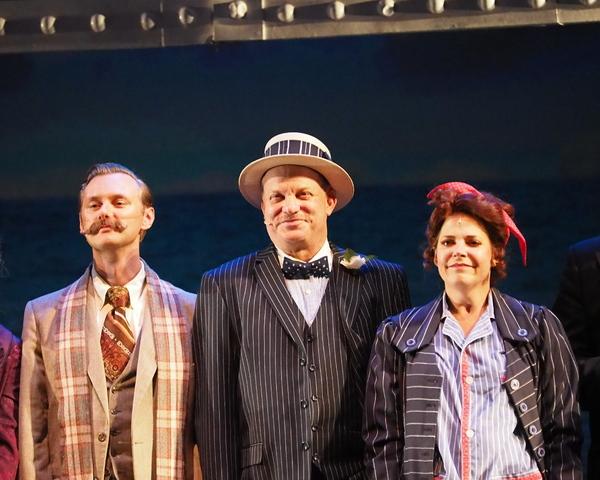 Bradley J. Behrmann, Greg Nicholas, and Bets Malone Photo