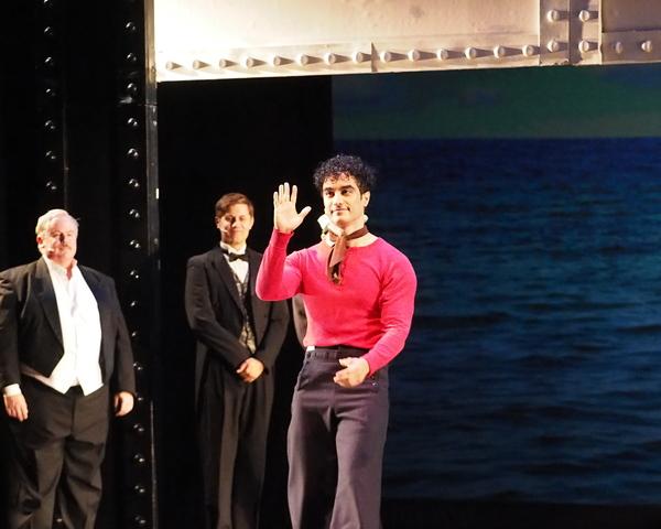 Joseph Grienenberger, Matthew Malecki, and Richard Bermudez