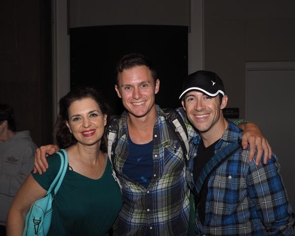 Debra Wanger, Chaz Feuerstine, and Bryan Banville