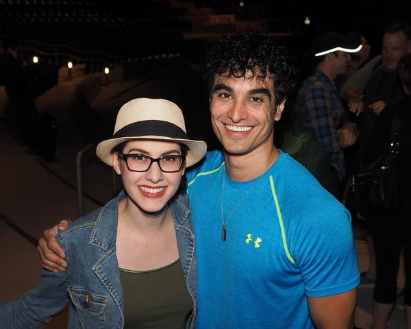 Carlin Castellano and Richard Bermudez