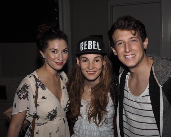 Shaina Knox, Katie Sapper, and Scott Arnold