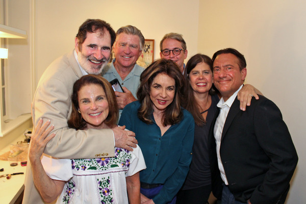 Richard Kind, Treat Williams, Matthew Broderick, Dayle Reyfel, Eugene Pack, Tovah Feldshuh and Stockard Channing