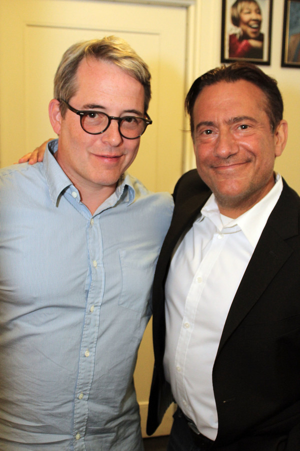 Matthew Broderick and Eugene Pack