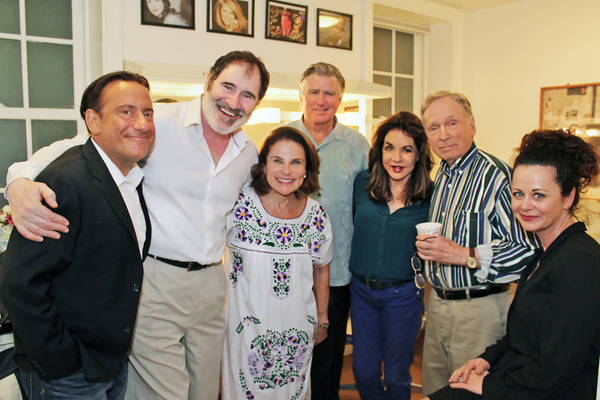 Eugene Pack, Richard Kind, Tovah Feldshuh, Treat Willams, Stockard Channing, Dick Cavett and Geraldine Hughes