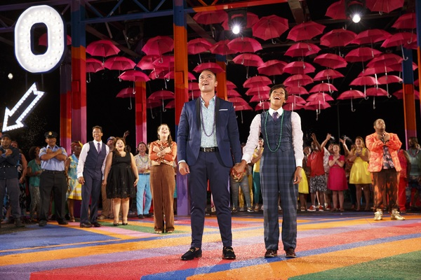 Photo Flash: First Look at Nikki M. James, Jose Llana and More in The Public's TWELFTH NIGHT Public Works Musical