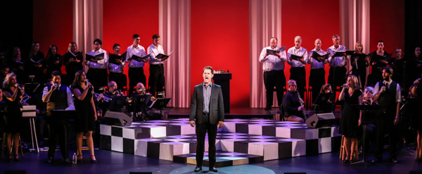 Photo Flash: First Look at Michael McCorry Rose and More in CHESS IN CONCERT at The Barn Stage Company