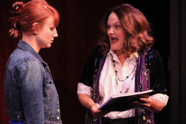(left to right) Brittany Stock and Amy Kasper in AstonRep Theatre Company's w Photo