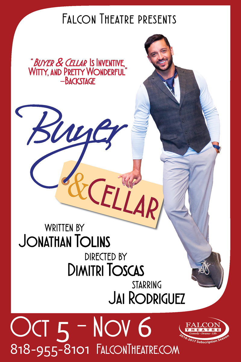 BWW Interview: BUYER & CELLAR's Jai Rodriguez Loves Selling It Live Onstage