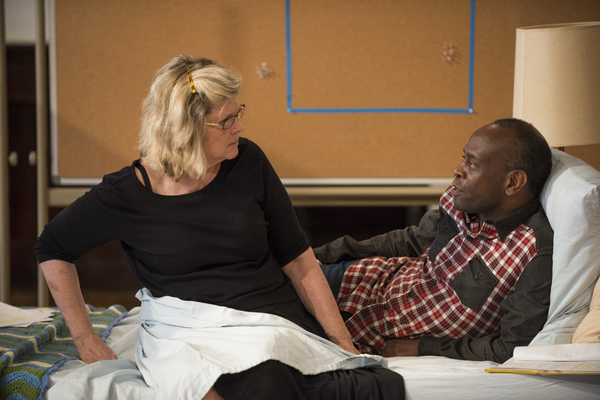 Photo Flash: In Rehearsal with Debra Monk and More for VISITING EDNA at Steppenwolf Theatre