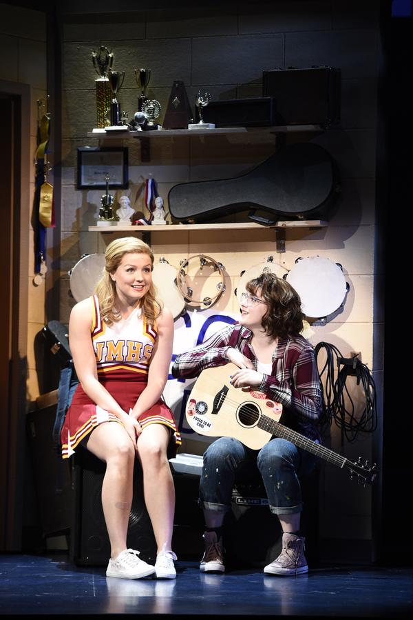 Anna Grace Barlow and Caitlin Kinnunen