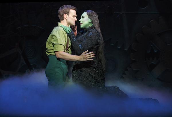 Jeremy Woodard and Jessica Vosk Photo