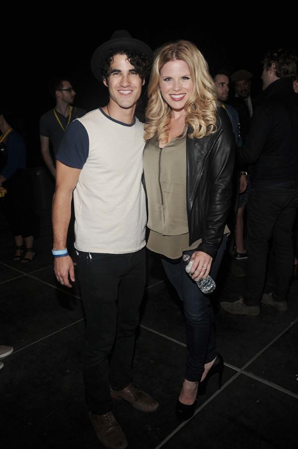 Darren Criss and Megan Hilty