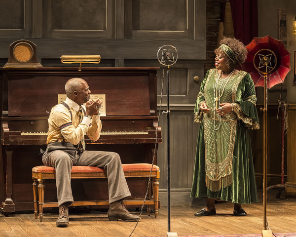 Glynn Turman and Lillias White Photo by Craig Schwartz