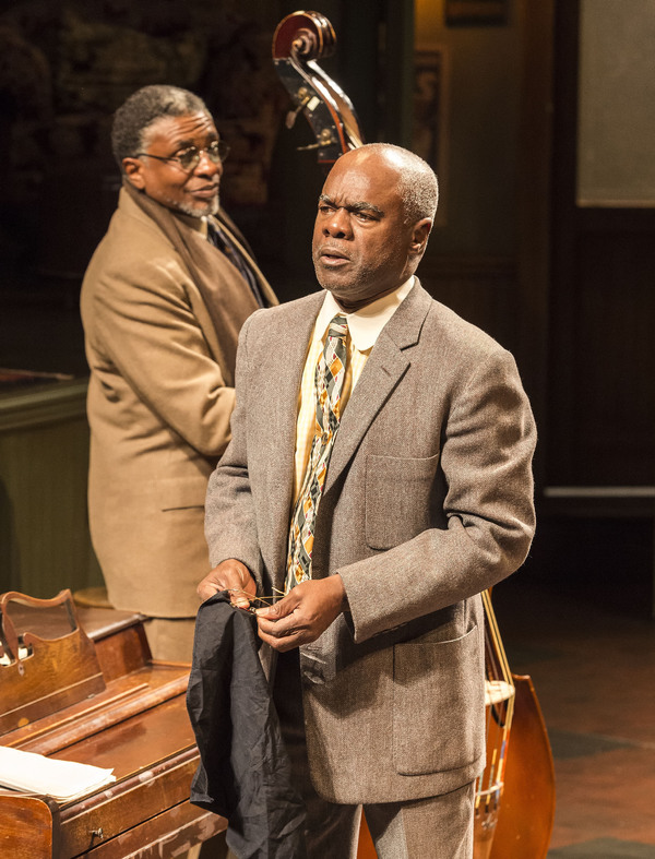 Keith David and Glynn Turman Photo by Craig Schwartz