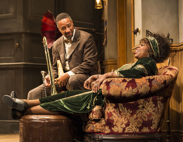 Damon Gupton and Lillias White Photo by Craig Schwartz