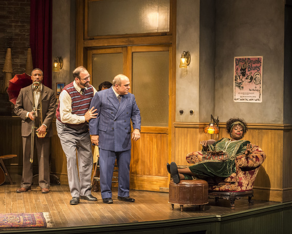 Damon Gupton, Ed Swidey, Matthew Henerson and Lillias White Photo by Craig Schwartz