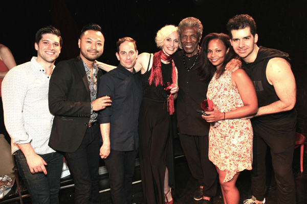 Sam Edgerly, Billy Bustamante, Garth Kravits, Jamey Hood, Andre De Shields, Lauren Hooper and Denis Lambert