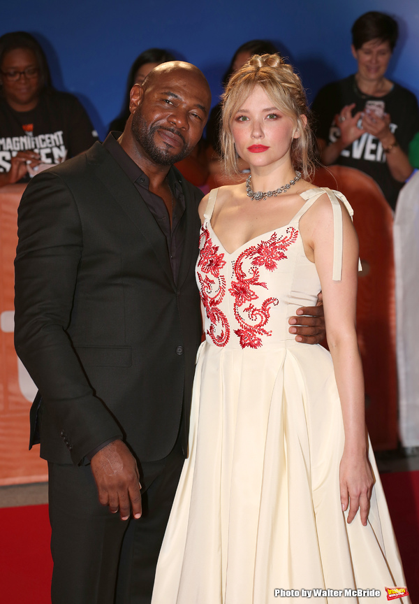 Antoine Fuqua and Haley Bennett