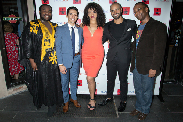 Photo Coverage: SPAMILTON Raises a Glass to Opening Night!