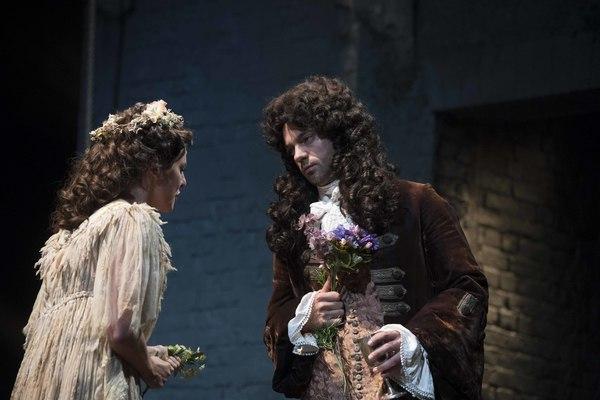 Ophelia Lovibond and Dominic Cooper