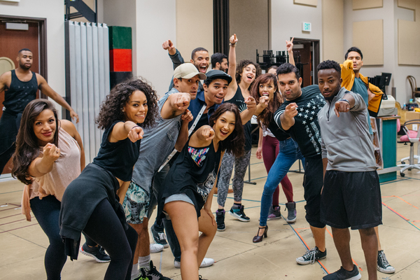 Photo Flash: In Rehearsal for Starry IN THE HEIGHTS at Theatre Under The Stars