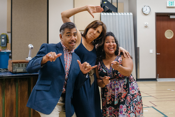 Danny Bolero, April Ortiz and Rayanne Gonzales  Photo