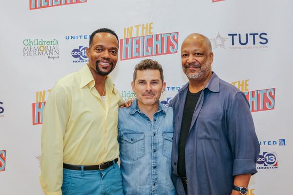 Darryl Archibald, Nick DeGruccio, and Sheldon Epps.