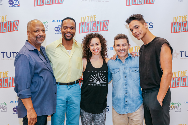 Sheldon Epps, Darryl Archilbald, Rebecca Kritzer, Nick DeGruccio, and Jose-Luis Lopez Photo