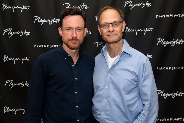 Brad Heberlee and David Hyde Pierce